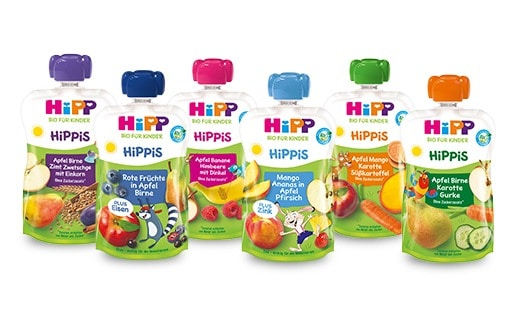 Mango, jednozrnka, okurka. Testovali jste kapsičky HiPP, které mají hodně zajímavé příchutě